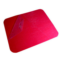 The Felt Store - Felt Memo Board - 16 x 13 Inch, Red - Great for organizing your workspace and presentations in the office or for displaying personal items and projects at home our Felt Memo Boards are a modern alternative to the bulletin board. Eliminate the need for tapes, glues, magnets and pins with a bright and colorful memo board that will keep your favorite photos and notes on the wall! A great tool to help with organizing photos, cards and artwork or planning for school, schedules and notes. Stick to your fridge, cupboards, walls and more! This product can be stuck to smooth or rough surfaces and can be removed and reused. This Felt Memo Board is 16 inches x 13 inches x 0.06 inch thick (406mm x 330mm x 1.5mm). Available in different sizes and colors. *Please note that this product may remove paint upon removal.*