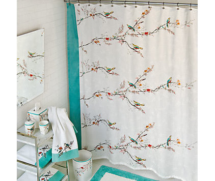 contemporary shower curtains by Lenox