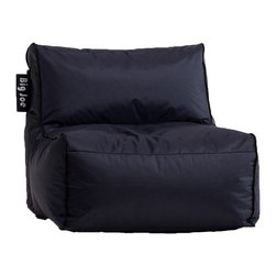 Big Joe Zip Modular Sofa Armless Chair- - Perfect for watching movies, reading a magazine, or anything else you can dream up, this Big Joe Zip Modular Sofa Armless Chair will quickly become your favorite place to relax with.  It features a SmartMax fabric and very flexible UltimaX-bean filling. Its spacious seat and armless design make it ideal for casual lounging.