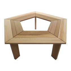 All Things Cedar - Cedar Tree Bench - Our 5 sided tree bench is the ideal addition for any yard or garden. Casual seating for around the yard or as a subtle focal point in your garden area. Item is made to order.