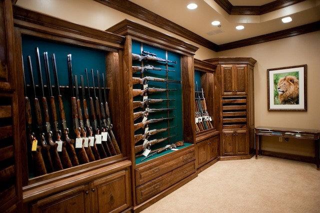 Gun room home design photos kitchen design ideas for Home gun room