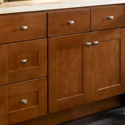 Shop Medium Brown Atin Cherry Cabinets Products on Houzz