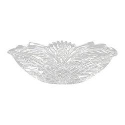 Vintage English Pressed Glass Oval Candy Flower Bowl Dish - This is a beautiful vintage English pressed glass oval candy flower bowl dish. It has a very attractive shaped rim and its surface is beautifully adorned with lovely press glass designs and it has a traditional decorative oval base.This piece may show minor age appropriate signs of wear but as shown it is overall in very good cosmetic condition.