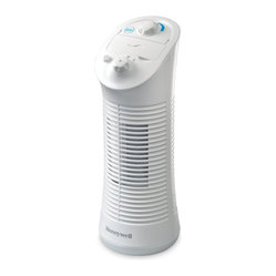 "Kaz Inc - Honeywell Febreze Tower Fan White - KAZ Honeywell with Febreze Mini Tower Fan - White (14"" Tall). Whole room odor control & freshening; Febreze scent dial: variable settings to adjust odor control; Fits with all Febreze Set & Refresh cartridges; 2 Speeds & oscillation; Tabletop model perfect for kitchens & bedrooms; 1 year warranty."