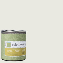 Inspired Semi-Gloss Interior Paint, Imagine .06, Quart - Colorhouse paints are zero VOC, low-odor, Green Wise Gold certified and have superior coverage and durability. Our artist-crafted colors are designed to be easy backdrops for living. Colorhouse paints are 100% acrylic with no VOCs (volatile organic compounds), no toxic fumes/HAPs-free, no reproductive toxins, and no chemical solvents.