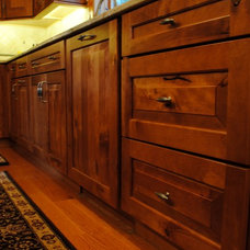 Rustic Kitchen Cabinets by Sterling Kitchen & Bath