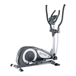 KETTLER AXOS Cross P Elliptical - Give your body an ideal heart-training workout with the KETTLER AXOS Cross P Elliptical. Designed to provide a smooth performance with advanced computer training, this sturdy elliptical has a solid steel frame and only take up a small amount of space with its compact footprint. Featuring an LCD electronic display with push & turn controls, this elliptical measures your heart rate telemetric hand grips and its exclusive KETTLER wired infrared pulse sensor. The display provides you total distance, time, speed, RPM, energy consumption, and heart rate. It also features 12 programs with adjustable intensity levels to keep your workout from hitting a plateau. The stride length of the AXOS Cross P is 15 inches to provide for full-motion movements while the footplates travel 18 inches along their elliptical paths. Includes a manufacturer's lifetime warranty on the frame 2 years on parts.About Kettler ProductsThis item is manufactured by Kettler. Throughout the world, Kettler is a leading brand in leisure furniture, sports and fitness equipment, table tennis tables, bicycles, and children's outdoor toys. Since 1949, the company has grown from a small enterprise in Heinz Kettler's home town of Ense-Parsit in Germany into a world-wide manufacturing and marketing organization. Heinz Kettler has always remained true to the Made in Germany quality principle and it is still the central pillar of the company's management philosophy. This means that even after 50 years of trading all over the world, most of the factories, and particularly the most important ones, are still in Germany.