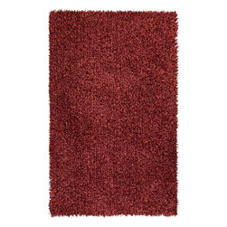 Surya - Surya Prism PSM-8003 (Scarlet) 8' x 10' Rug - This Hand Woven rug would make a great addition to any room in the house. The plush feel and durability of this rug will make it a must for your home. Free Shipping - Quick Delivery - Satisfaction Guaranteed