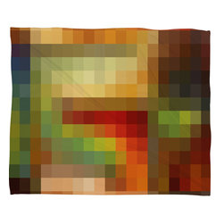 DENY Designs - Madart Inc Maze Of Colors Fleece Throw Blanket - This DENY fleece throw blanket may be the softest blanket ever! And we're not being overly dramatic here. In addition to being incredibly snuggly with it's plush fleece material, it's maching washable with no image fading. Plus, it comes in three different sizes: 80x60 (big enough for two), 60x50 (the fan favorite) and the 40x30. With all of these great features, we've found the perfect fleece blanket and an original gift! Full color front with white back. Custom printed in the USA for every order.