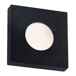 Kenroy Home - Kenroy Home 72825 Outdoor Energy Star Wall Sconce from the Burst Collection - *Burst Small Square Wall Mount - Indoor / Outdoor