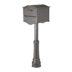 The Geneva - The Geneva® combines an elegant Swiss-inspired design with innovative delivery and rear access doors to create a mailbox that will enhance the décor of any home. The Geneva features a large-capacity, locking door that ensures parcels remain secure, and features a locking rear access door that, when mounted curbside, prevents the need to enter the street to retrieve mail. To find a dealer near you please visit: http://www.architecturalmailboxes.com/where-to-buy/default.aspx