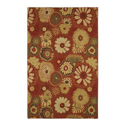Dynamic Rugs - Dynamic Rugs Dynamak 9.2X12.10 3008-320 Light Cinnamon - The Dynamak Collection combines the aesthetic of centuries-old weaving techniques, durability, and affordability to create a beautiful assortment of rugs, suitable for any home. From Oriental-inspired patterns, to transitional styles with reduced borders and enlarged patterns, the Dynamak Collection is a rare combination of modern and traditional. The Dynamak Collection delivers flawless style and lavishness to the home.