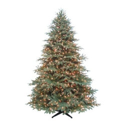 Norway Spruce Artificial Tree  7.5'  900 Clear Lights - Holiday Concepts 7.5' Norway Spruce 900 Clear