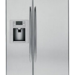 """GE Profile - PSB42YSXSS 42"""" Built-in 25.2 cu. ft. Capacity  Side-by-Side Refrigerator 4 Glass - GE Consumer and Industrial spans the globe as an industry leader in major appliance lighting and integrated industrial equipment systems and services They provide solutions for commercial industrial and residential use in more than 100 countries whic..."""