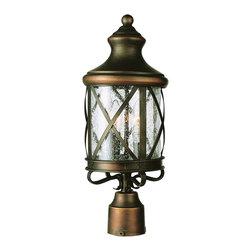 Trans Globe Lighting - Trans Globe Lighting 5125 AC New England Coastal 4-Light Traditional Outdoor Pos - Trans Globe Lighting 5125 AC New England Coastal 4-Light Traditional Outdoor Post Lantern Light