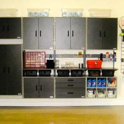 Home Organization - freedomRail Garage by Organized Living