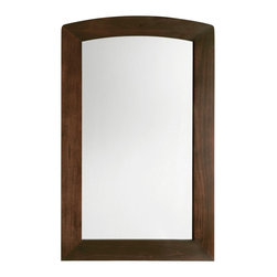American Standard - Jefferson Mirror in Autumn Cherry - American Standard 9630.101.316 Jefferson Mirror in Autumn Cherry .