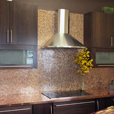 Modern Kitchen Countertops by Riverside Sheet Metal & Contracting Inc.