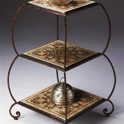 Butler - Square Etagere in Metalworks Finish - Metalwork's finish
