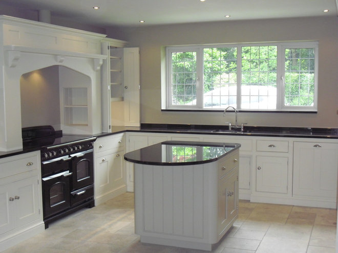 Traditional Kitchen Islands And Kitchen Carts by Cheshire Granite Worktops