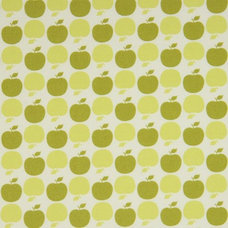 Fabric green apples Michael Miller fabric USA designer fabric