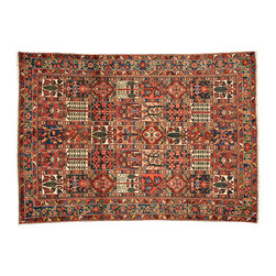 1800-Get-A-Rug - Oriental Rug Persian Bakhtiari Garden Design Hand Knotted Rug Sh12521 - About Persian