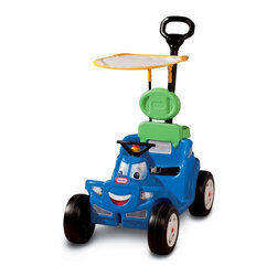 Little Tikes - Little Tikes Deluxe 2-in-1 Cozy Roadster Car Riding Push Toy Multicolor - 622069 - Shop for Tricycles and Riding Toys from Hayneedle.com! About Little TikesFounded in 1970 the Little Tikes Company is a multi-national manufacturer and marketer of high-quality innovative children's products. They manufacture a wide variety of product categories for young children including infant toys popular sports play trucks ride-on toys sandboxes activity gyms and climbers slides pre-school development role-play toys creative arts and juvenile furniture. Their products are known for providing durable imaginative and active fun.In November of 2006 Little Tikes became a part of MGA Entertainment. MGA Entertainment is a leader in the revolution of family entertainment. Little Tikes services the United States from its headquarters and manufacturing facility in Hudson Ohio but also operates several manufacturing and distribution centers in Europe and Asia.
