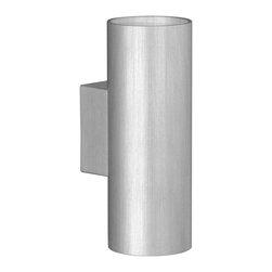 EGLO - Eglo 87327A Aluminium 2X50W Wall/Ceiling Light - EGLO 87327A Aluminium 2x50W Wall/Ceiling Light