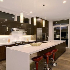 Contemporary Kitchen Countertops by Northwest Granite & Marble