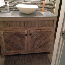Tropical Bathroom Vanities And Sink Consoles by Seabreeze Interior Design