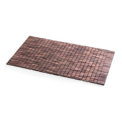 WS Bath Collections - Rose Wood Shower Mat - Modern/contemporary design. Water resistant. For use inside or outside of shower. Designer high end quality. Warranty: One year. Made by Lineabeta of Italy. No assembly required. 39.4 in. L x 21.7 in. W x 0.8 in. H (14 lbs.). Spec SheetUnique and fine bath accessories and complements, that provide inspirational solutions for every decor.