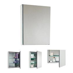Fresca - Fresca FMC8010 40 Inches Wide Bathroom Medicine Cabinet With Mirrors, Mirror, 20 - Fresca FMC8058 20 Inches Wide Bathroom Medicine Cabinet With Mirrors
