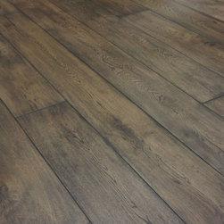 "European wide plank Smoked Oak - Hardwax oil finish 7  1/2 "" wide  and 7 ' long boards"