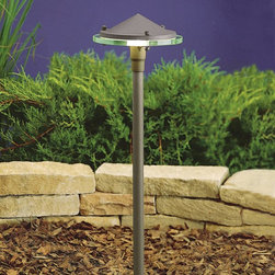 Kichler - Kichler Other Outdoor Post/Pier in Red - Shown in picture: LED Glass & Metal in Textured Architectural Bronze