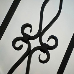 Tallwood Ct - Atherton - Wrought iron balusters