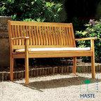 Haste Garden Riviera 2 Seater Bench - Haste Garden Riviera 2 Seater Bench