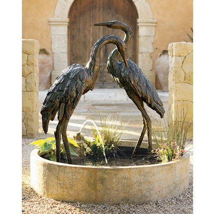 Traditional Outdoor Fountains And Ponds by Neiman Marcus