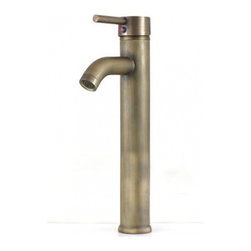 JollyHome - JollyHome Single Handle Vessel Faucets Bronze - Complete parts and all install fittings are included.Water pressure tested for industry standard.Easy to keep clean and maintain.Ceramic valve core