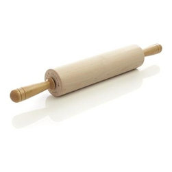 J.K. Adams Co. Patisserie Rolling Pin - Passionate bakers will appreciate the finer points of this premium maple rolling pin from the craftsmen at J.K. Adams. Smooth, waxed barrel rolls effortlessly on precision ball bearings, while finely crafted ergonomic handles are comfortable to hold and press. J.K. Adams has been making fine wooden kitchen tools in New England since 1944, where they source their FSC-certified wood.