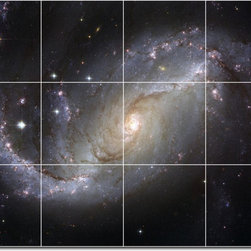 Picture-Tiles, LLC - Stars Galaxys Photo Custom Tile Mural 30 - * MURAL SIZE: 24x32 inch tile mural using (12) 8x8 ceramic tiles-satin finish.