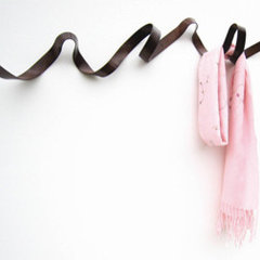 contemporary hooks and hangers by Hidden Art