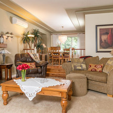 Traditional Living Room by Total 360 Photography