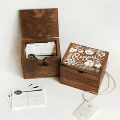Heirloom Recipe Card Box