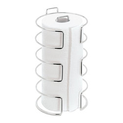 Blomus - Metal Wire Chrome Plated Paper Towel Holder - Chrome plated paper towel holder by Blomus.