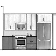 Contemporary  by Robert J Erdmann Design, LLC