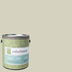 Inspired Eggshell Interior Paint, Nourish .01, Gallon - Color house paints are zero VOC, low-odor, Green Wise Gold certified and have superior coverage and durability. Our artist-crafted colors are designed to be easy backdrops for living. Color house paints are 100% acrylic with no VOCs (volatile organic compounds), no toxic fumes/HAPs-free, no reproductive toxins, and no chemical solvents.
