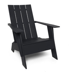 4-slat Adirondack - I love this modern take on the Adirondack, a chair that is synonymous with summer. It will have your guests relaxing in style.