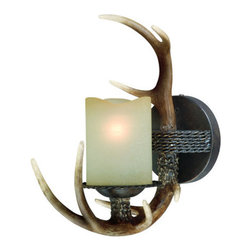 Vaxcel Lighting - Vaxcel Lighting W0032 Yoho 1 Light Bathroom Sconce - Features: