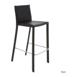 Bridget Bar Stool, Set of 2, Black