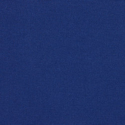 Blue Solid  Outdoor Indoor Upholstery Fabric By The Yard - This upholstery fabric suitable for indoor and outdoor applications. The fabric is water, soil, mildew and fading resistant. It is also Scotchgarded for further protection. It is cleanable with warm water and soap. Uniquely Made in America!